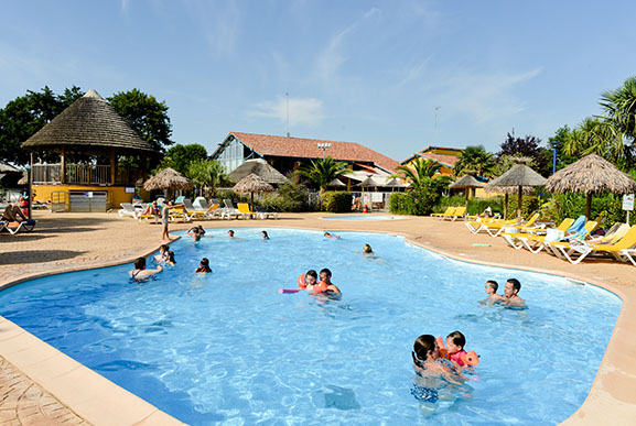 camping avec piscine landes